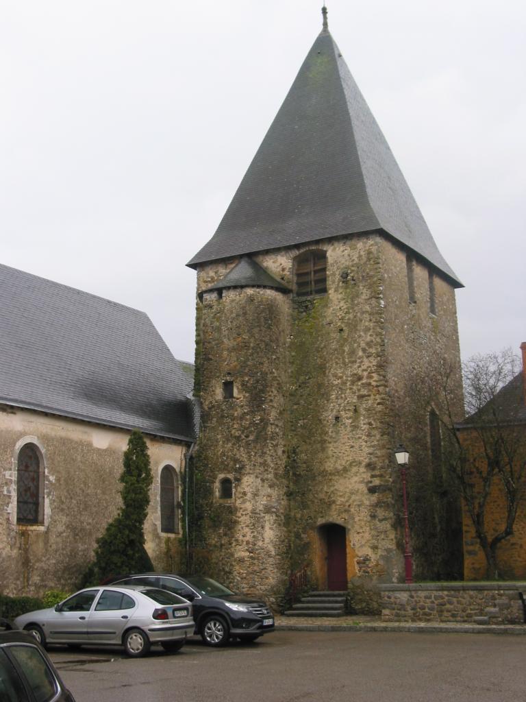 L'église de Saulges