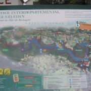 Plan du site de Guerledan